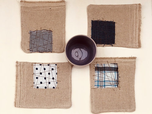 Linen Coaster [set of 4]