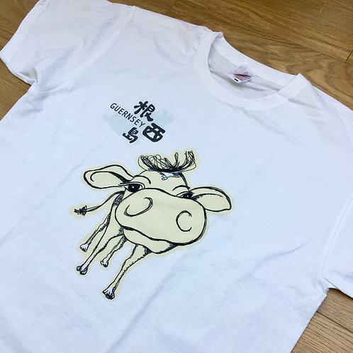 Guernsey Cow b-Tee (kids)