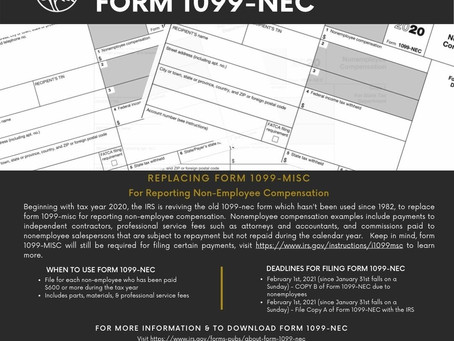 IRS Bringing back 1099-nec