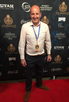 Colin Skevington at the FilmQuest Awards, Provo, Utah, USA.