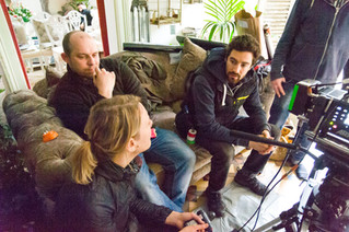The Lossen (2018) Behind the scenes   Camera team meeting
