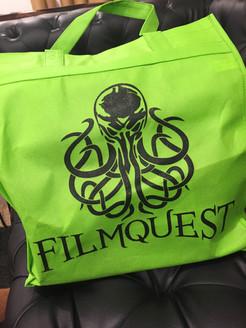 FilmQuest goodie bag. Provo, Utah, USA.