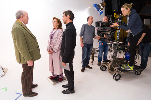 The Lossen Behind the scenes   White room