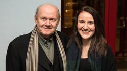 Albert Welling and Sian Davies