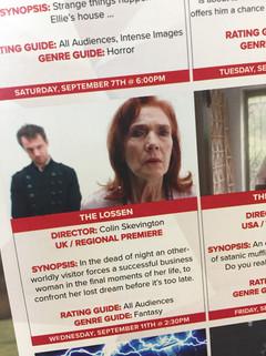 FilmQuest festival programme.