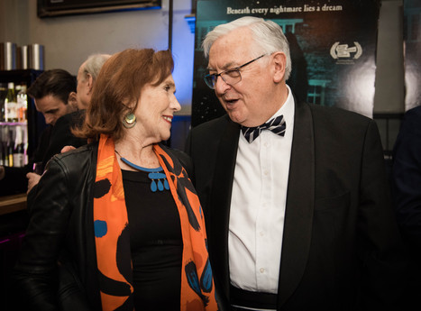 Linda Marlowe and Charles Little (Executive Producer).