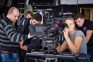 The Lossen (2018) Behind the scenes   Camera crew
