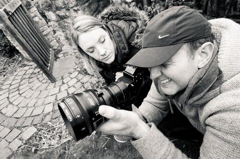 The Lossen (2018) Behind the scenes   Colin Skevington Hatti Beanland