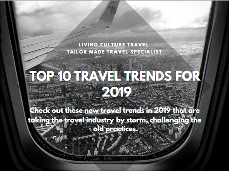 Top 10 Travel Trends for 2019