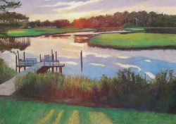 Sunset on White's Creek