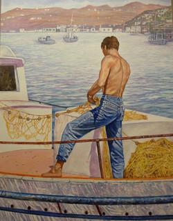 Greek Fisherman I