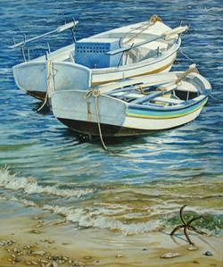 Two Greek Boats
