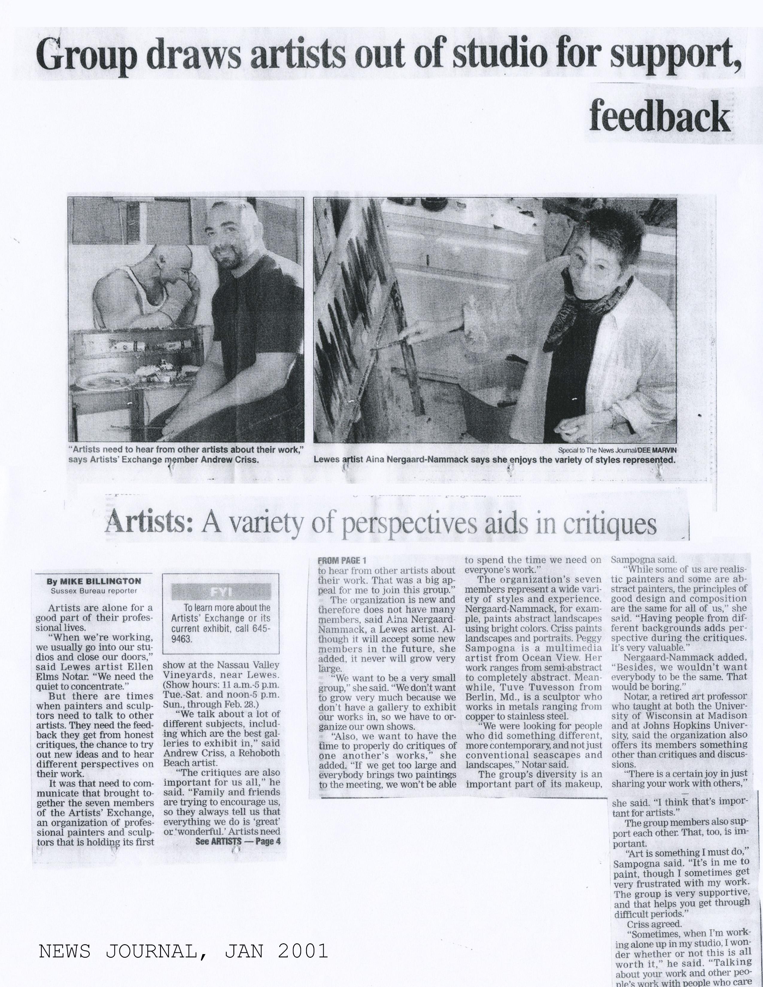 Delaware Online January 2001