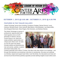 Ocean City Art League 2015