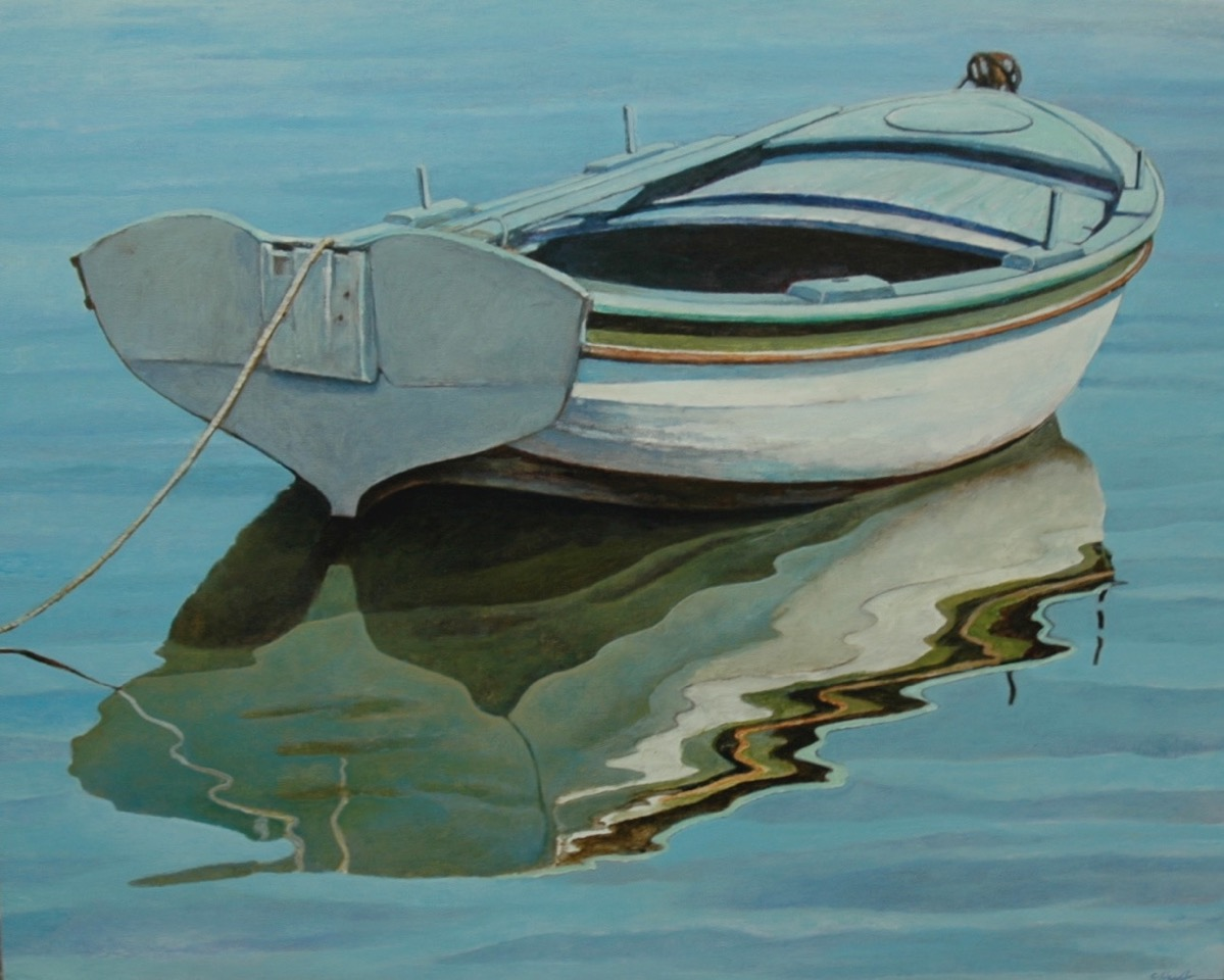 Aegean Reflection IV
