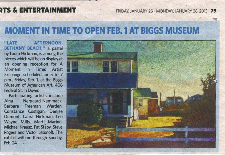 Biggs Museum 2013
