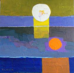 #1502 Grieg, Peer Gynt, Morning, 30x30