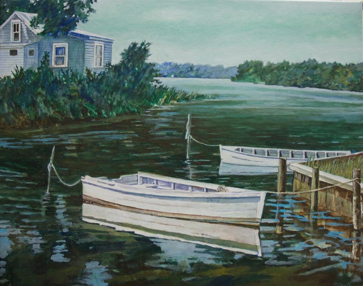 """Island Chesapeake 24"""" x 30"""""""