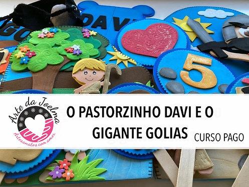 1º MINICURSO GRUPO FECHADO NO FACEBOOK - O PASTORZINHO DAVI E O GIGANTE GOLIAS .