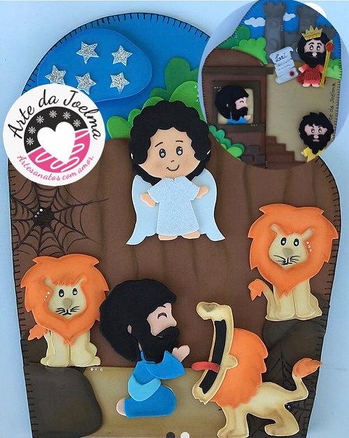 Molde luvinha Daniel na cova dos leões.
