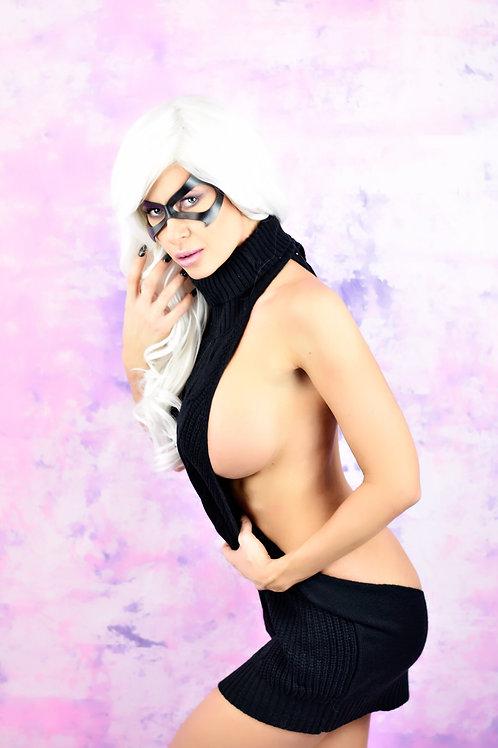 Black Cat Virgin Sweater