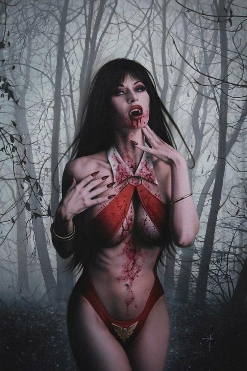 Red Sonja Vampirella Betty Veronica #1 Virgin Cover