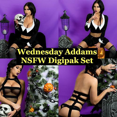 Dreams in Digital - Wednesday NSFW Full Set