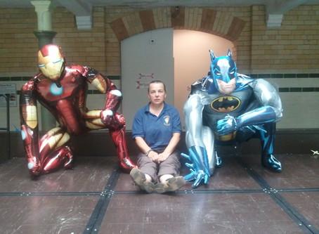 Its a Superhero kind of a day