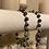 Thumbnail: Turquoise Bracelet on White Twine