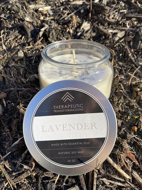 Lavender Organic Candle 10oz