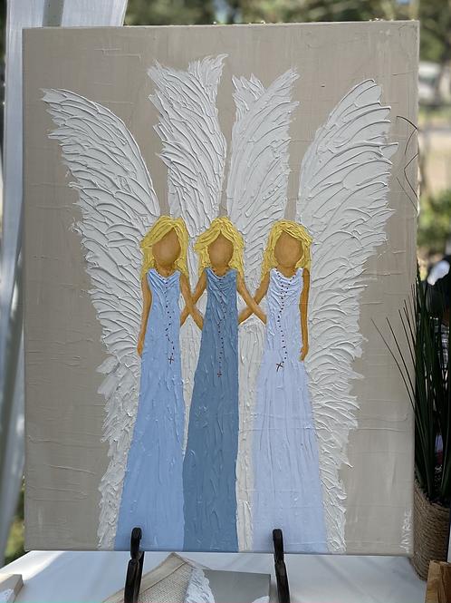3 Angel Painting