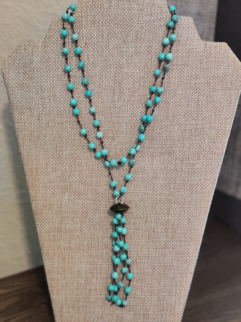 Turquoise Necklace w/Tassel