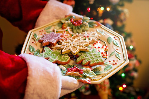 Holiday Sugar Cookies by the Dozen
