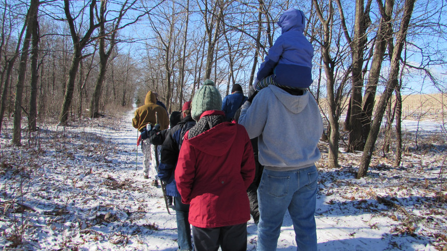 G-RAS Volunteers lead a public Guided Hike, every second Saturday from May - October.