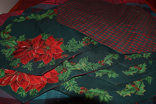 Reversible Holiday Placemats - Set of 6