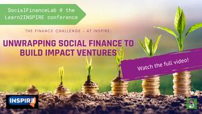 SocialFinanceLab @INSPIRE conference