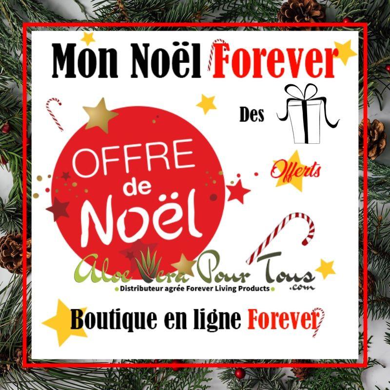 Offre de noël boutique en ligne Forever