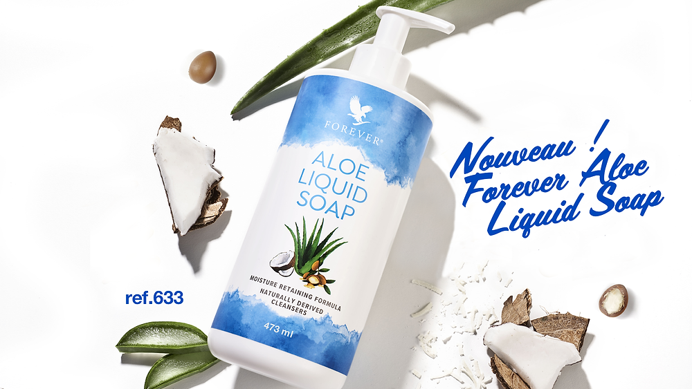 Nouveau Aloe Liquid Soap Forever Living