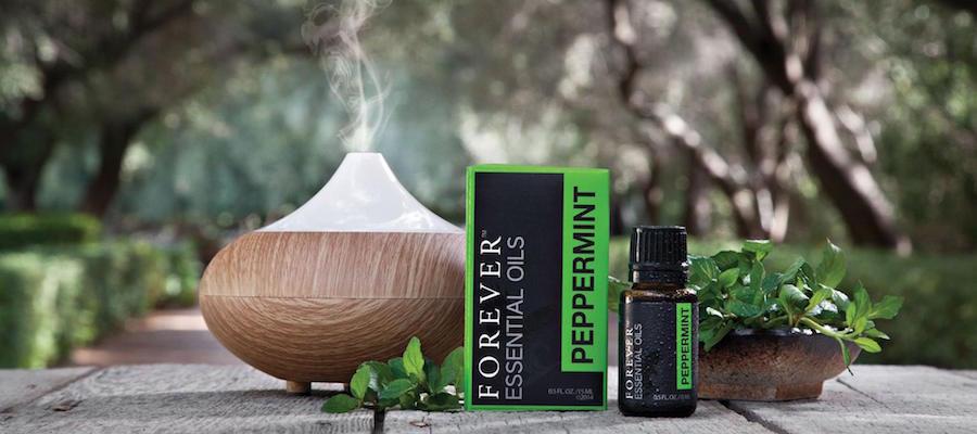 huile essentielle de menthe poivrée forever