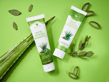 Aloe-Jojoba Shampoo, Conditioner | Shampoing, Après-Shampoing, Cheveux, Aloe Vera Forever