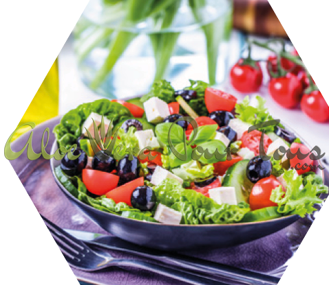 Salade grecque, recette C9, Fit15