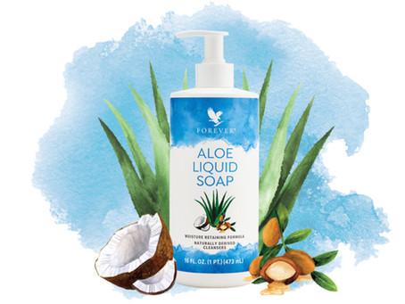 Aloe Liquid Soap | Savon Aloe Vera Forever, Visage, Corps, Cheveux pour toute la famille