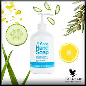 Aloe Hand Soap | Soins et hygiène bébé | Forever Living Products