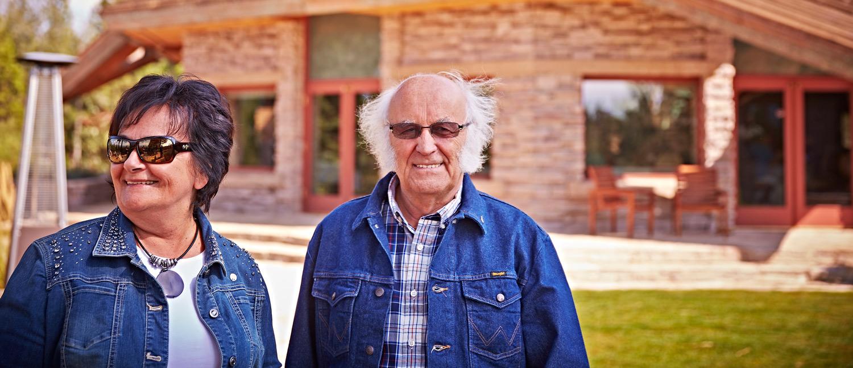 Bogumila et Jan Sroka