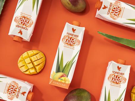 Forever Aloe Mango   Alliance parfaite du gel Aloe Vera et de la Mangue