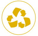 UN EMBALLAGE 100% RECYCLABLE