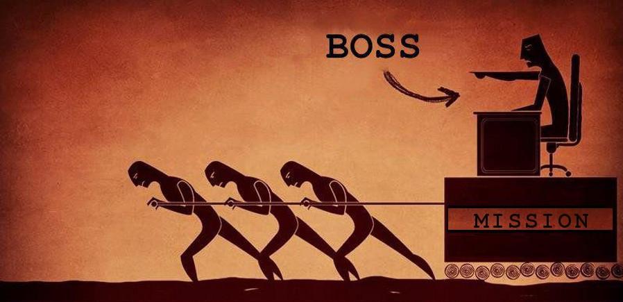 Patron ou Directeur d'entreprise traditionnel
