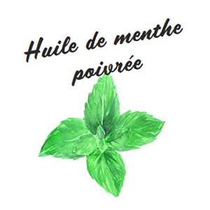 Ingrédient huile essentielle de menthe poivrée