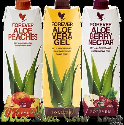 Pulpes d'Aloe Vera Forever Tetrapack