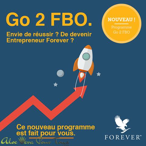 """Programme de lancement, pack de lancement """"Go 2 FBO"""""""